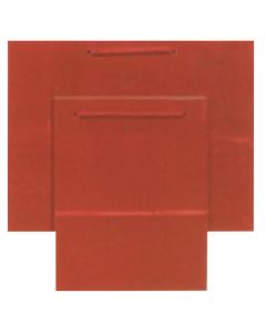 """9.75""""X 7.5"""" Red Gift Bag"""