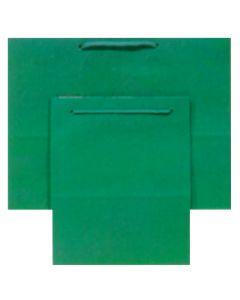 "9.75""X 7.5"" Green Gift Bag"