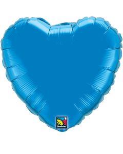 """18""""Sapphire Heart"""