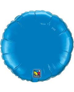 """18""""Saphire Blue Round"""