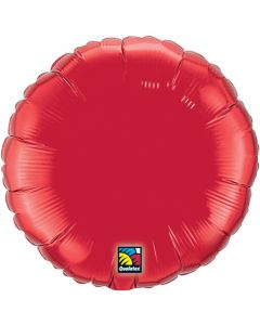 """18""""Ruby Red Round"""