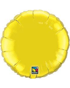 """18""""Citrine Yellow Round"""