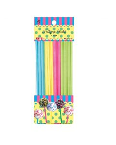 "6"" Lollipop Sticks Assort 24ct"