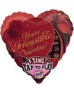 "28"" Irresistible Valentine SingBalloon"