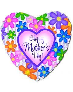 """31"""" Mom's Day Colorful Flowers"""