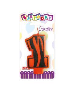 """3"""" Animal Print Candle #1"""