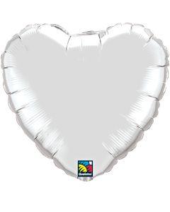 """4"""" Silver Heart"""