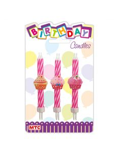 4 Cake Candles 6ct