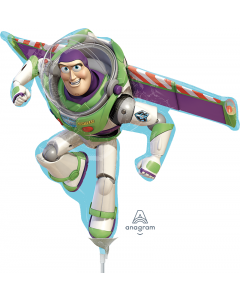 "14"" Buzz Lightyear Inflated with Cup & Stick"