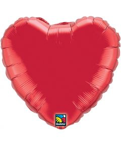 """18""""Ruby Red Heart"""