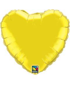 "18""Citrine Heart"
