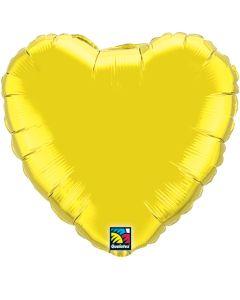 "36""Citrine Heart"