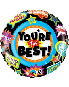 "18"" You're The Best Accolades Pkg"