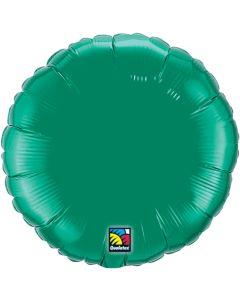 """9"""" Emerald Green Round"""