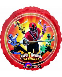 """9"""" Power Rangers Inflated with Cup & Stick"""