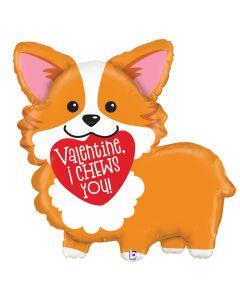 """28"""" Valentine Corgi"""