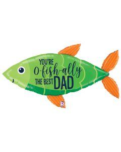 """45"""" O'Fishally Best Dad"""