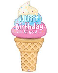 "60"" Special Delivery Birthday Cone"