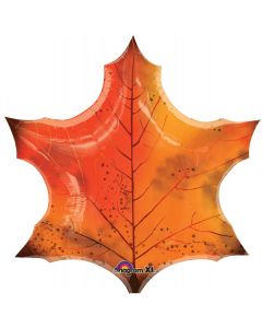 "25"" Orange Maple Leaf"