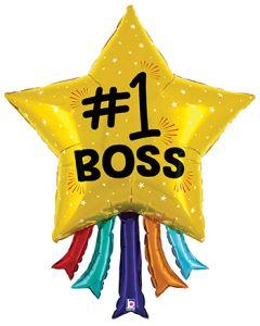 "43"" #1 Boss Star & Streamers"
