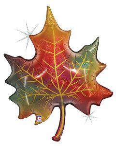 "35"" Glittering Fall Leaf"