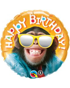 "18"" Smilin' Chimp Birthday Pkg"