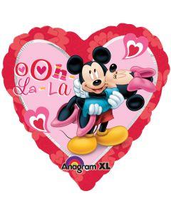 "18"" Mickey & Minnie Love Ya"