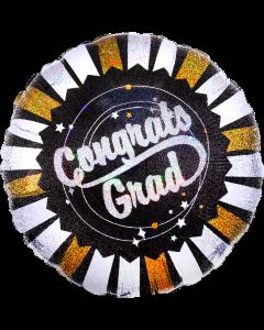 """18"""" Congrats Grad Glitters"""