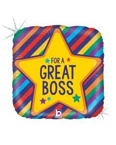 "18"" A Great Boss"