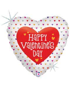"""18"""" Mini Hearts Valentine Pkg"""