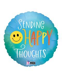 "18"" Sending Happy Thoughts Pkg"
