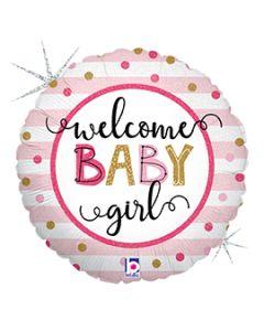 """18"""" Baby Girl Stripes Pkg"""