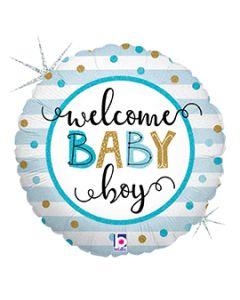 """18"""" Baby Boy Stripes Pkg"""