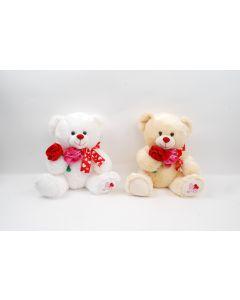 "13"" Valentine Bear w/ Roses"