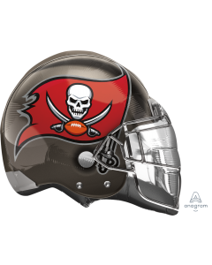 """21"""" Tampa Bay Buccneers Helmet"""
