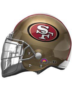 "21"" San Francisco 49ers Helmet"