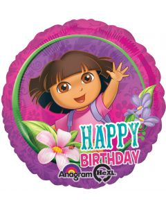 "18"" Dora Happy B'day"