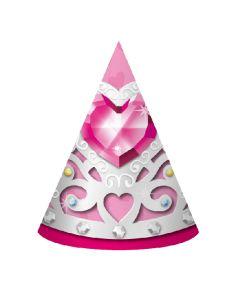 Birthday Princess Party Hats  8ct