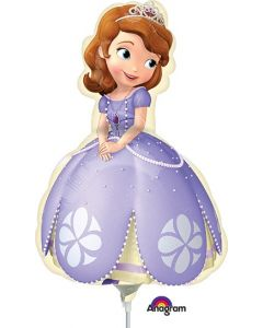"14"" Sofia The First Inflated with Cup & Stick"