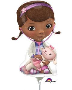 "14"" Doc McStuffins Inflated with Cup & Stick"