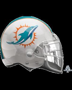 """21"""" Miami Dolphins Helmet"""