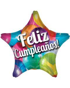 "18"" Feliz Cumpleanos Star"