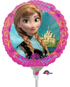 "9"" Disney Frozen Inflated with Cup & Stick"