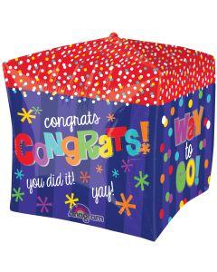 """15"""" Way To Go Congrats Cubez"""