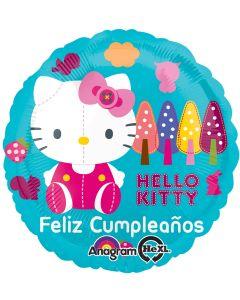"18"" Hello Kitty Feliz Cumpleanos"