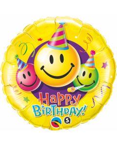 """18"""" Emoji Birthday Fun"""