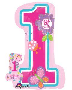 "28"" 1st Birthday Girl-"