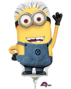 """14"""" Despicable Me Inflated with Cup & Stick"""