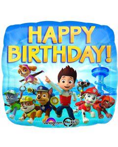 """18"""" Paw Patrol Birthday Pkg"""