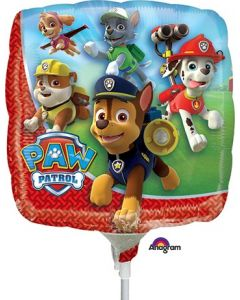 "9"" Paw Patrol Inflated with Cup & Stick"